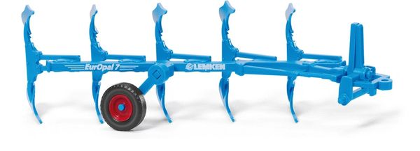 037802 WIKING LEMKEN EUROPAL 7 PLOUGH 1:87 SCALE