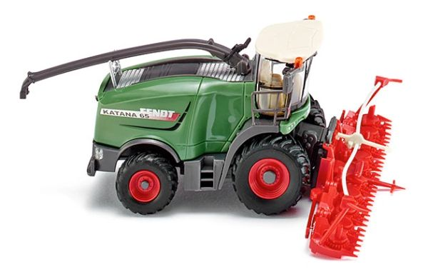 038999 WIKING FENDT KATANA 65 WITH MAIZE HEADER 1:87 SCALE