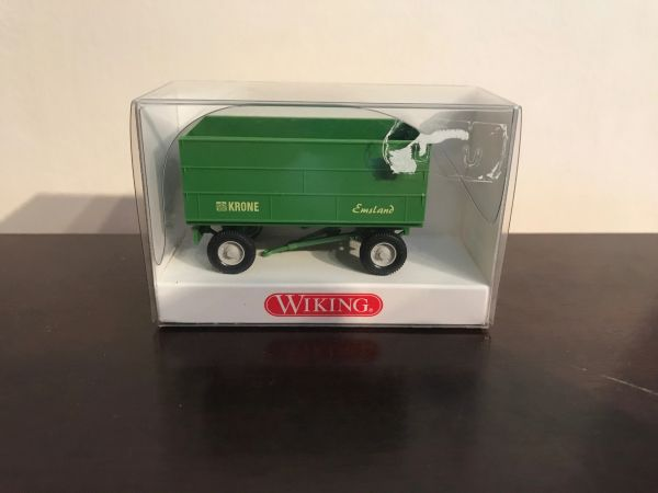 3884017 WIKING KRONE TRAILER HIGH SIDES 1:87 SCALE