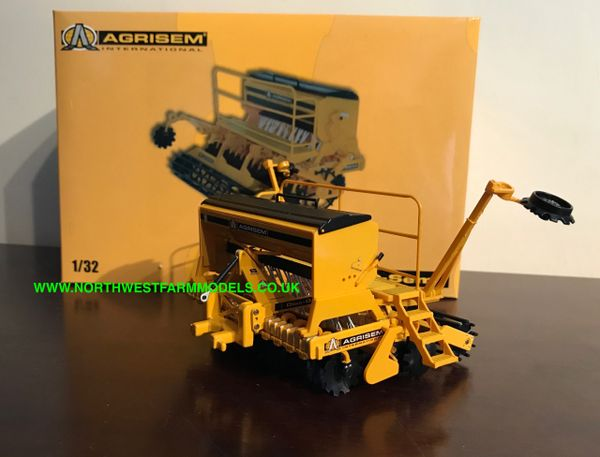 REPLICAGRI 1:32 SCALE AGRISEM DISC-O-SEM DS1100 COMBINATION DRILL (DEALER BOX)