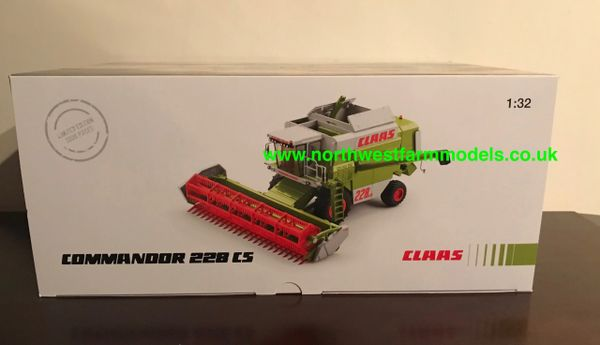 WIKING 1:32 SCALE CLAAS COMMANDOR 228 CS COMBINE HARVESTER LIMITED EDITION