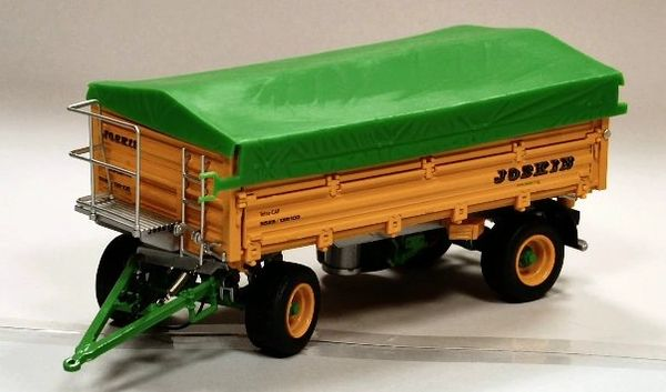 ROS 60221 1:32 SCALE JOSKIN DOUBLE AXLE TRAILER WITH COVER
