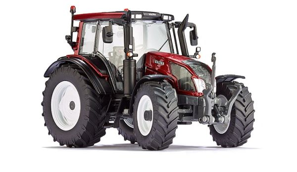 WIKING 1:32 SCALE VALTRA N143 HI-TECH SERIES (RED) TRACTOR