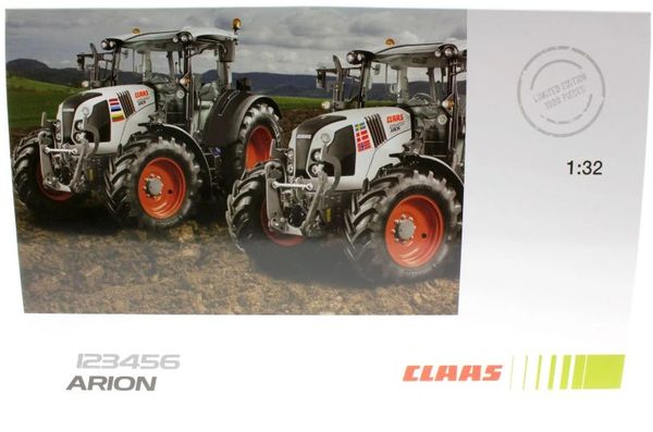 WIKING 1:32 SCALE CLAAS ARION 123456 LIMITED EDITION AGRITECHNICA 2015 EDITION