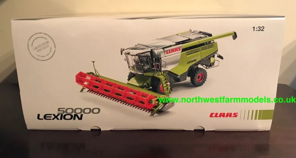WIKING 1:32 SCALE CLAAS LEXION 50,000 CHROME LIMITED EDITION 1000 PIECES