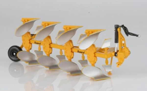REPLICAGRI HUARD QR65 4 FURROW PLOUGH 1:32 SCALE