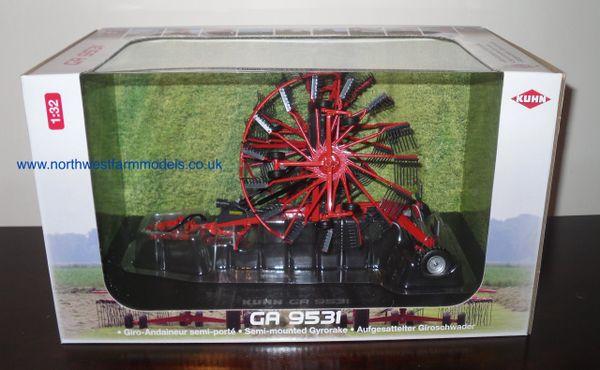 UH4197 Universal Hobbies KUHN GA 9531 Rotary Rake (Dealer Box)