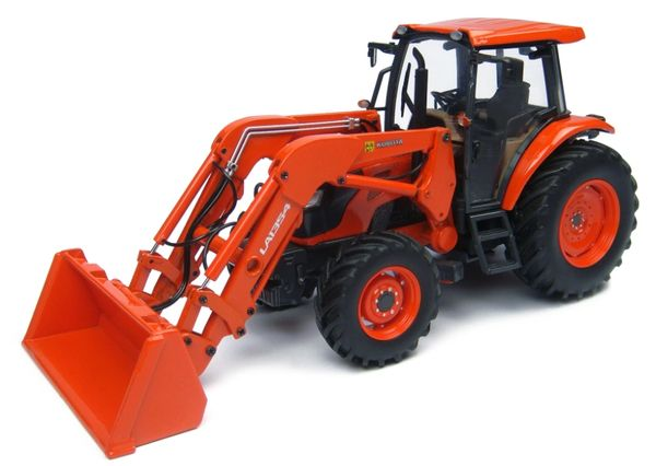 UNIVERSAL HOBBIES 4869 1/32 SCALE KUBOTA M9960 WITH LOADER MODEL TRACTOR (MIB)