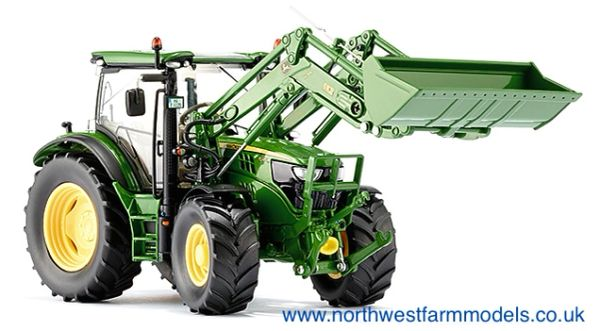 Wiking 1/32 John Deere 6125R With H340 Front Loader