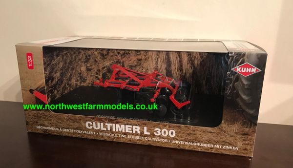 UNIVERSAL HOBBIES 1:32 SCALE KUHN CULTIMER L300 CULTIVATOR