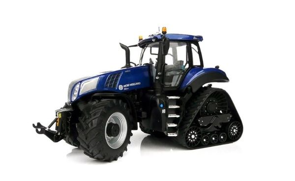 """MARGE MODELS 1:32 SCALE NEW HOLLAND T8.435 BLUE POWER """"SMART TRAX"""""""