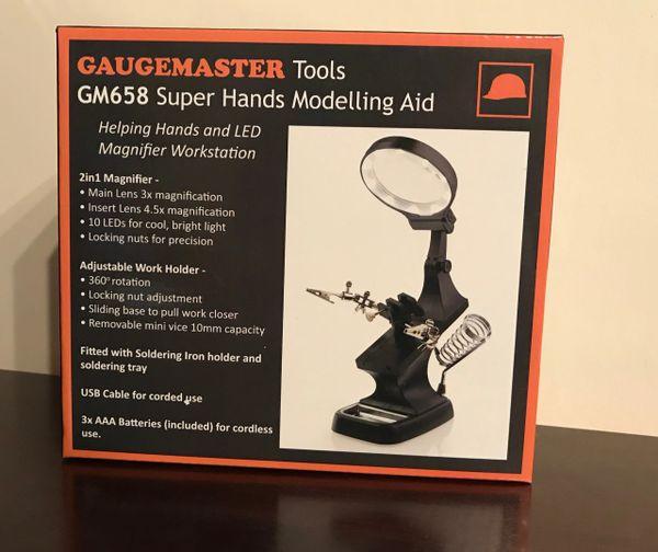 GAUGEMASTER TOOLS GM658 SUPER HANDS MODELLING AID