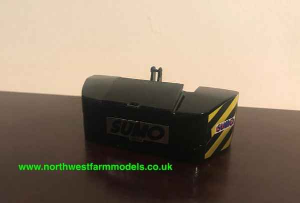 1:32 SCALE SUMO FRONT WEIGHT (BLACK)