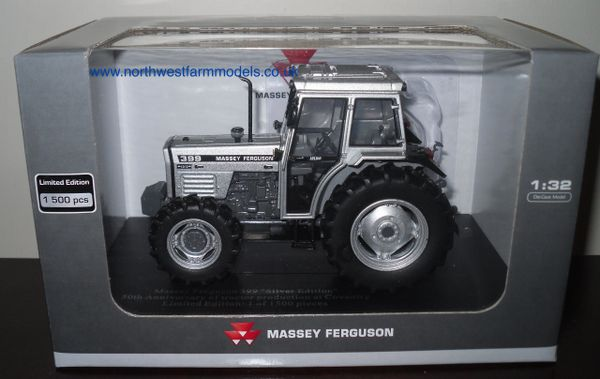 "UH4878 Universal Hobbies 1/32 Scale Massey Ferguson 399 ""Silver Edition"" Limited Edition"