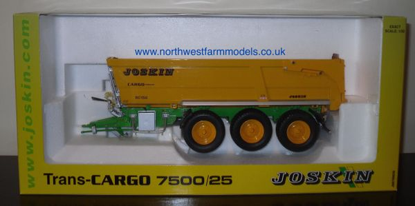 ROS 1/32 JOSKIN Trans-CARGO 7500/25 Trailer (DEALER BOX)