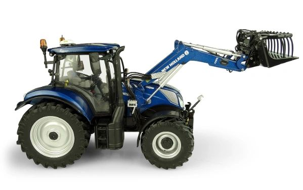 UNIVERSAL HOBBIES 1:32 SCALE NEW HOLLAND T6.175 BLUE POWER WITH LOADER