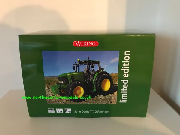 WIKING 1:32 SCALE JOHN DEERE 7430 PREMIUM 100 YEARS LIMITED EDITION