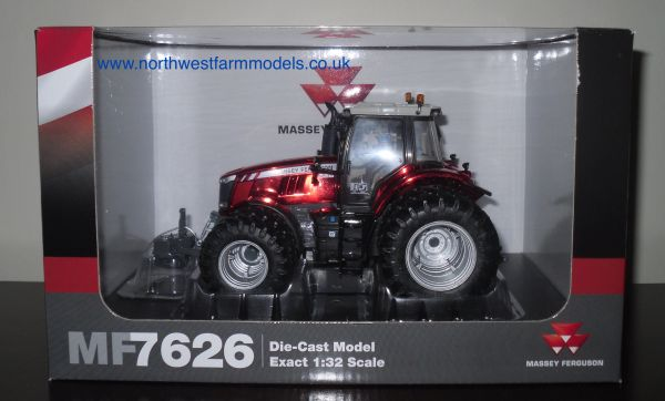 UH4267 Massey Ferguson 7626 Chrome Red Dual Wheels (2014 Show Models)