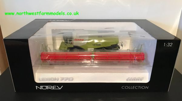 NOREV 1:32 SCALE CLAAS LEXION 770 WHEELED COMBINE HARVESTER