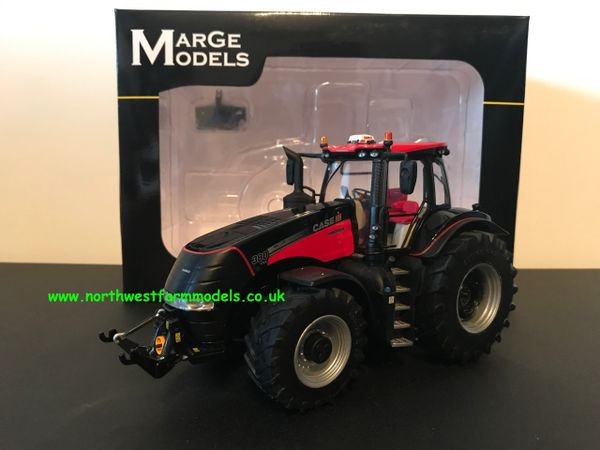 MARGE MODELS 1818 1:32 SCALE CASE IH MAGNUM 380 CVX BLACK AND RED LIMITED EDITION