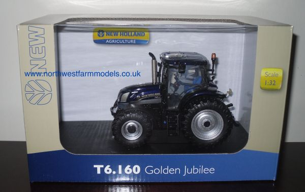 "UH4272 Universal Hobbies 1/32 New Holland T6.160 ""Golden Jubilee Edition"""