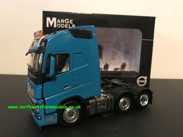 MARGE MODELS 1:32 SCALE VOLVO FH 16 6X2 BLUE
