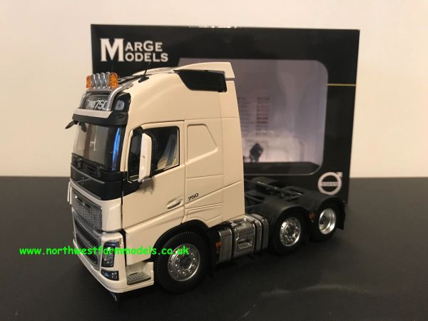 MARGE MODELS 1:32 SCALE VOLVO FH 16 6X2 WHITE