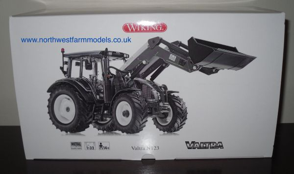 Wiking 1/32 Valtra N123 With Loader