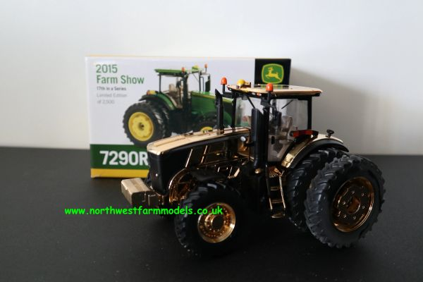ERTL BRITAINS 1:32 SCALE JOHN DEERE 7290R GOLD CHROME LIMITED EDITION