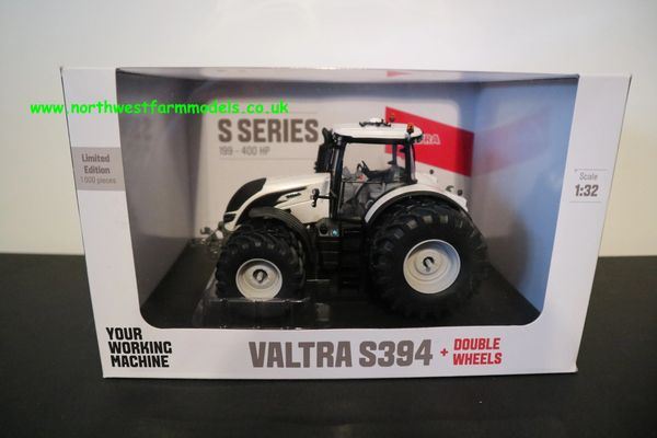 UNIVERSAL HOBBIES 1:32 SCALE VALTRA S394 DUAL WHEELS LIMITED EDITION