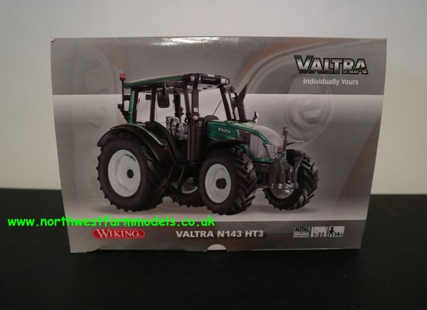 WIKING 1:32 SCALE VALTRA N143 HT3 GREEN METALLIC (DEALER EDITION)
