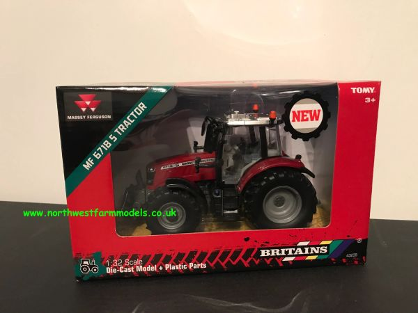 BRITAINS 1:32 SCALE 43235 MASSEY FERGUSON 6718S TRACTOR