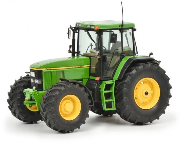 SCHUCO 1:32 SCALE JOHN DEERE 7710 4WD TRACTOR (BACK IN STOCK)