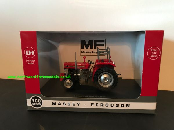 UNIVERSAL HOBBIES 5369 1:32 SCALE MASSEY FERGUSON 140 SUPER (RED GIANTS)