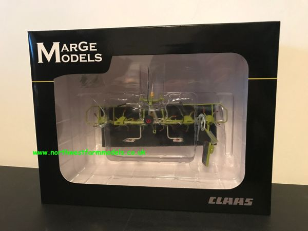 MARGE MODELS 1:32 SCALE CLAAS VOLTO 6 ROTOR TEDDER