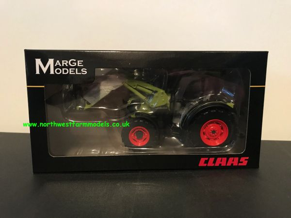 MARGE MODELS 1:32 SCALE CLAAS ELIOS 230 WITH FRONT LOADER