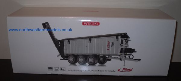 Wiking 1/32 Fliegl ASW 391 Trailer Wagon With Grain Chute