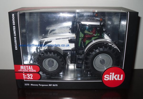 3270 SIKU Massey Ferguson 8670 White (Limited Edition)