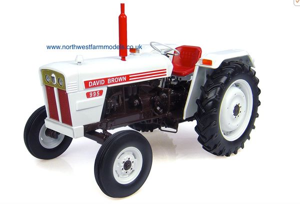 4884 1/16 Scale David Brown 995 (1972) Model Tractor