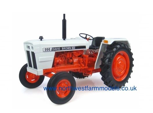 4883 Universal Hobbies 1/16 David Brown 996 (1974) Model Tractor