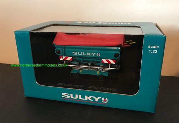 UNIVERSAL HOBBIES 4237 1:32 SCALE SULKY X 50 ECONOV MANURE SPREADER