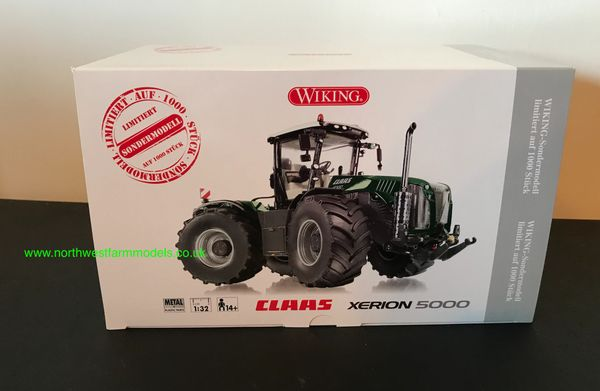 """WIKING 1/32 SCALE CLAAS XERION 5000 """"BOLLMER"""" LIMITED EDITION"""