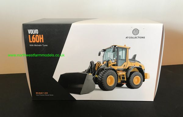 AT COLLECTIONS 1:32 SCALE VOLVO L60H LOADING SHOVEL WITH BUCKET