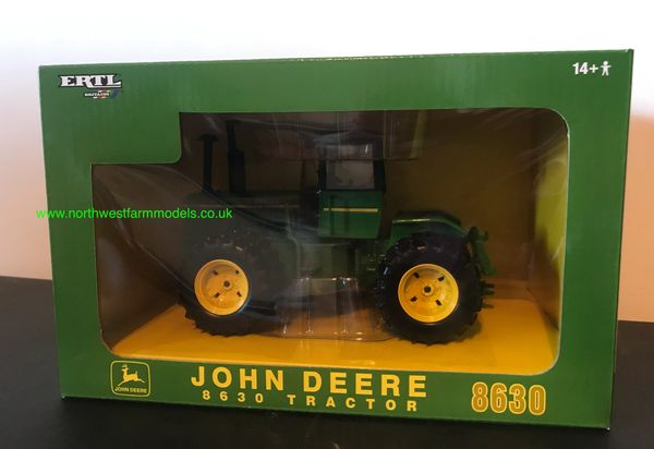 "ERTL/BRITAINS JOHN DEERE 8630 ""PLOW CITY"" 2007 FARM TOY SHOW LIMITED EDTION"
