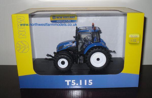 4229 Universal Hobbies New Holland T5.115 (Dealer Box)