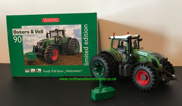 """WIKING 1:32 SCALE FENDT 936 VARIO """"OSTERS AND VoB"""" SILAGE TRACTOR LIMITED EDITION"""