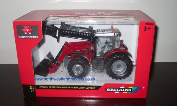 43082A1 Britains Farm Massey Ferguson 6616 With Loader
