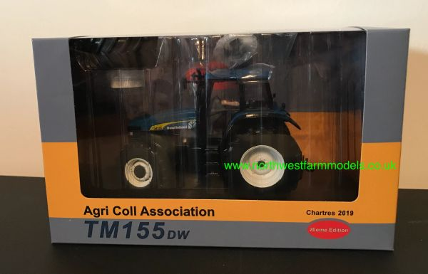 REPLIACAGRI 1:32 SCALE NEW HOLLAND TM155 WITH DUAL WHEELS
