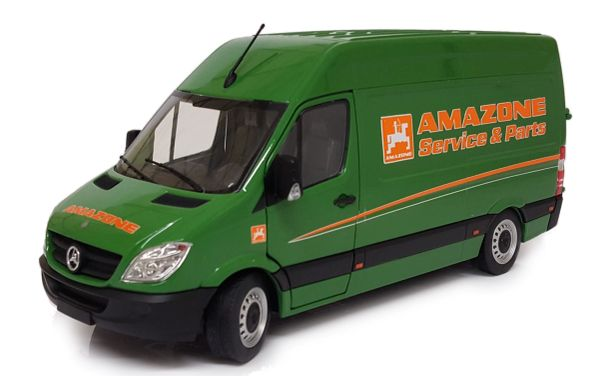 MARGE MODELS 1:32 SCALE MERCEDES BENZ SPRINTER - AMAZONE