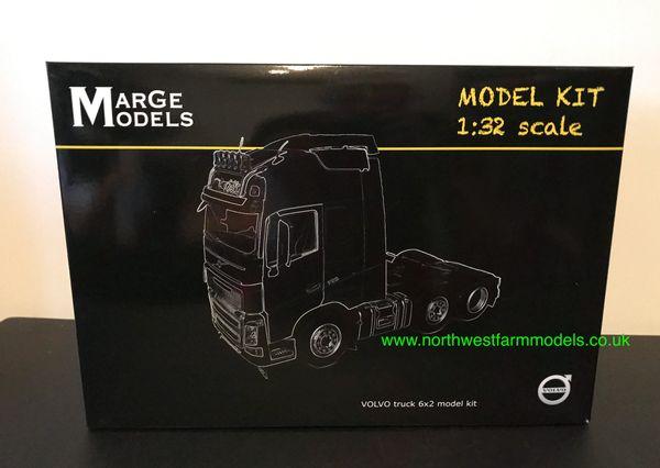 MARGE MODELS 1:32 SCALE VOLVO TRUCK 6X2 MODEL KIT